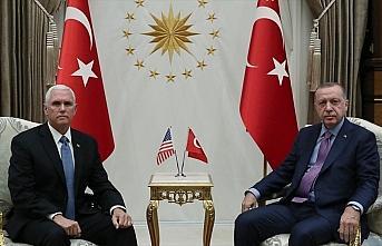 Cumhurbaşkanı Erdoğan ABD Başkan Yardımcısı...
