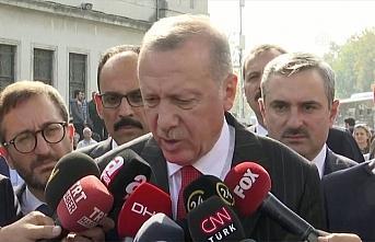 Cumhurbaşkanı Erdoğan: Şu andan itibaren 120 saatlik...