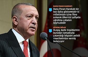 Cumhurbaşkanı Erdoğan: Türkiye kendi imkanlarıyla...