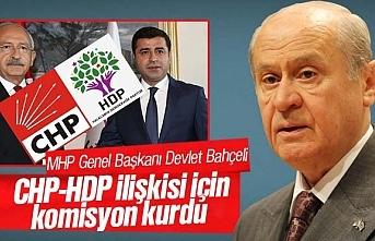Devlet bahçeli, CHP-HDP ilişkisinin incelenmesi için komisyon kurdu