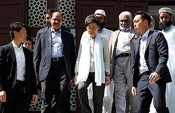 Hong Kong'da yöneticilerden camiye TOMA özrü