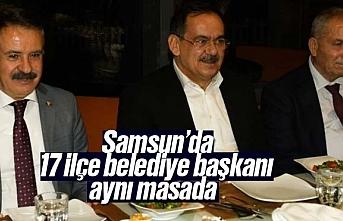 Mustafa Demir, 17 ilçe belediye başkanı ile aynı...