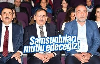 Mustafa Demir 'Samsunluları mutlu edeceğiz'