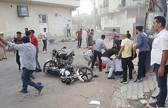 Nusaybin'de sivillere havanlı saldırı