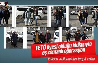 Samsun'da Bylock kullandıkları iddiasıyla 12 kişi FETÖ'den gözaltına alındı
