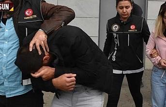 Samsun'da uyuşturucu operasyonunda 1 kişi tutuklandı