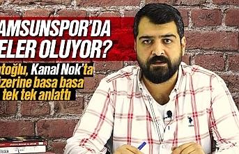 Samsunspor'da neler oluyor? Ahmet Çağdaş Çatoğlu,...