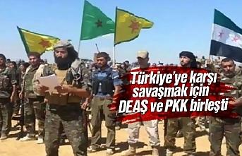 Türkiye'ye karşı savaşmak için terör örgütleri...