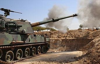 YPG/PKK'lı teröristlerden TSK unsurlarına taciz ateşi