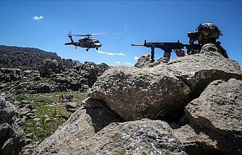 Ağrı kırsalında hava destekli operasyonda 7 terörist...