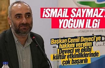 Atakum'da Gazeteci Yazar, İsmail Saymaz'a...
