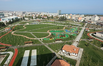 Canik Millet Bahçesi açılışına çok az kaldı