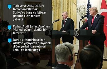 Cumhurbaşkanı Erdoğan, ABD ziyaretinde ne konuştu?