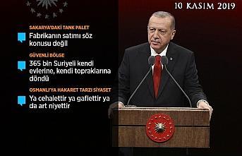 Cumhurbaşkanı Erdoğan: Cumhuriyetimizin lafla istismarını...