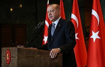 Cumhurbaşkanı Erdoğan: Kadına yönelik şiddeti...