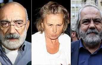 Mehmet Altan, Nazlı Ilıcak ve Ahmet Altan serbest...