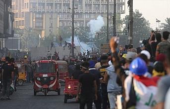 Irak'ta güvenlik güçleri göstericilere müdahale...