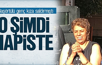İstanbul'da başörtülü genç kıza saldıran kadın tutuklandı
