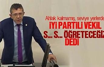 İyi Parti Milletvekili Yasin Öztürk'ten ahlaksız...