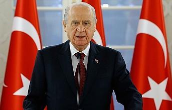 MHP Genel Başkanı Bahçeli: Cumhurbaşkanımıza desteğimiz tamdır