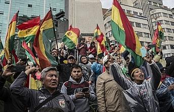 Morales'in istifasının ardından Bolivya'da halk...