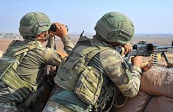 PKK/YPG'li teröristlerden Barış Pınarı Harekat...