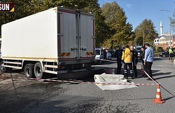 Samsun'da feci kaza, olay yerinde can verdi