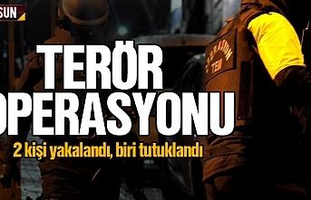Samsun'da terör operasyonunda bir kişi tutuklandı