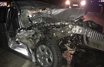 Samsun'un Çarşamba ve Terme ilçelerinde kaza, 3 yaralı