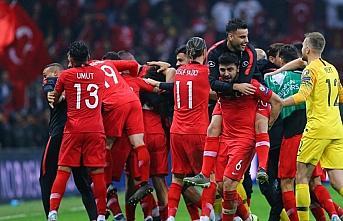 Spor camiasından A Milli Futbol Takımı'na kutlama