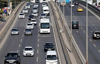 Trafiğe 9 ayda 472 bin 400 aracın kaydı yapıldı