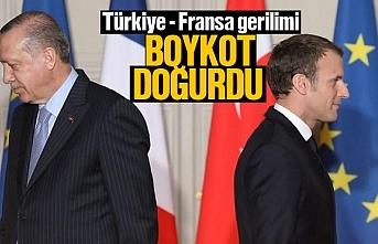 Türkiye Fransa gerilimi sonrası, ürünler boykot...