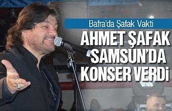 Ahmet Şafak Samsun'da konser verdi