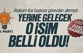 AK Parti Atakum İlçe Başkanı belli oldu