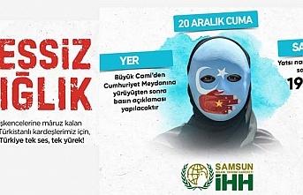 Çin'in Doğu Türkistan'da yaptığı işkence...