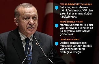 Erdoğan: Meclis açılır açılmaz Libya tezkeresini...