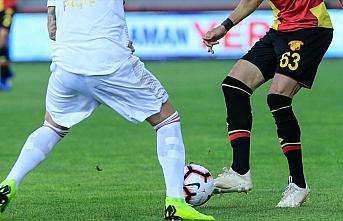 Göztepe, Süper Lig'in ilk yarısını Sivasspor...