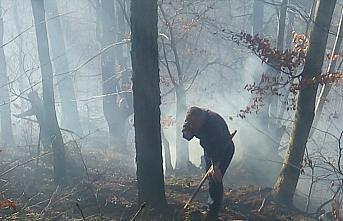 GÜNCELLEME - Düzce'de çıkan orman yangını kontrol...