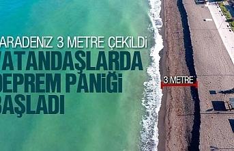 Karadeniz 3 metre çekildi, deprem mi olacak?