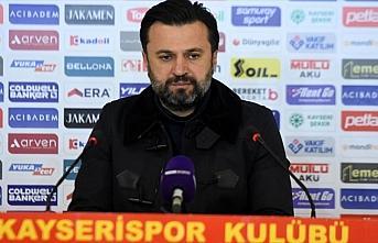 Kayserispor'da teknik direktör Bülent Uygun'la yollar...