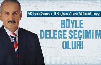 Mehmet Tayyare, Böyle delege seçimi mi olur'