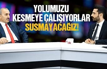 Mehmet Tayyare, ''Yolumuzu kesmeye çalışıyorlar,...