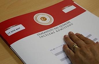 OHAL İşlemleri İnceleme Komisyonunun görev süresi...