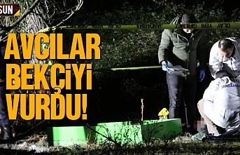 Samsun'da avcılar bekçiyi vurarak öldürdü