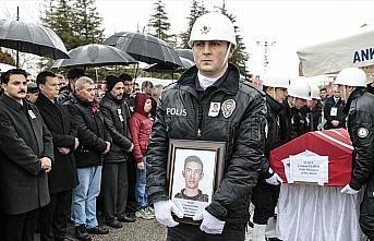 Şehit polis Elber'in cenazesi toprağa verildi