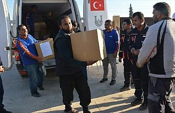 Suriyelilerin Barış Pınarı Harekatı bölgesine...