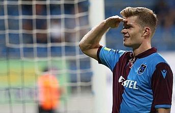 Trabzonspor'u golcü oyuncusu Sörloth taşıyor
