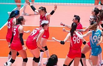 A Milli Kadın Voleybol Takımı'nın olimpiyat elemelerindeki...