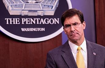 ABD Savunma Bakanı Esper'den İran'a tehdit: