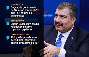 Bakan Koca: Şu an Türkiye için herhangi bir koronavirüsü...